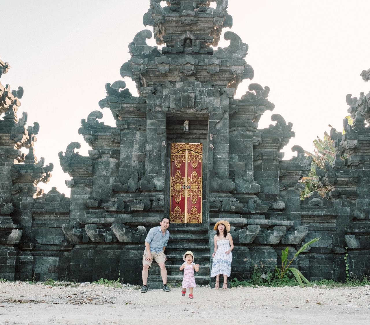Helen and Howard: Bali Summer Family Portrait 1