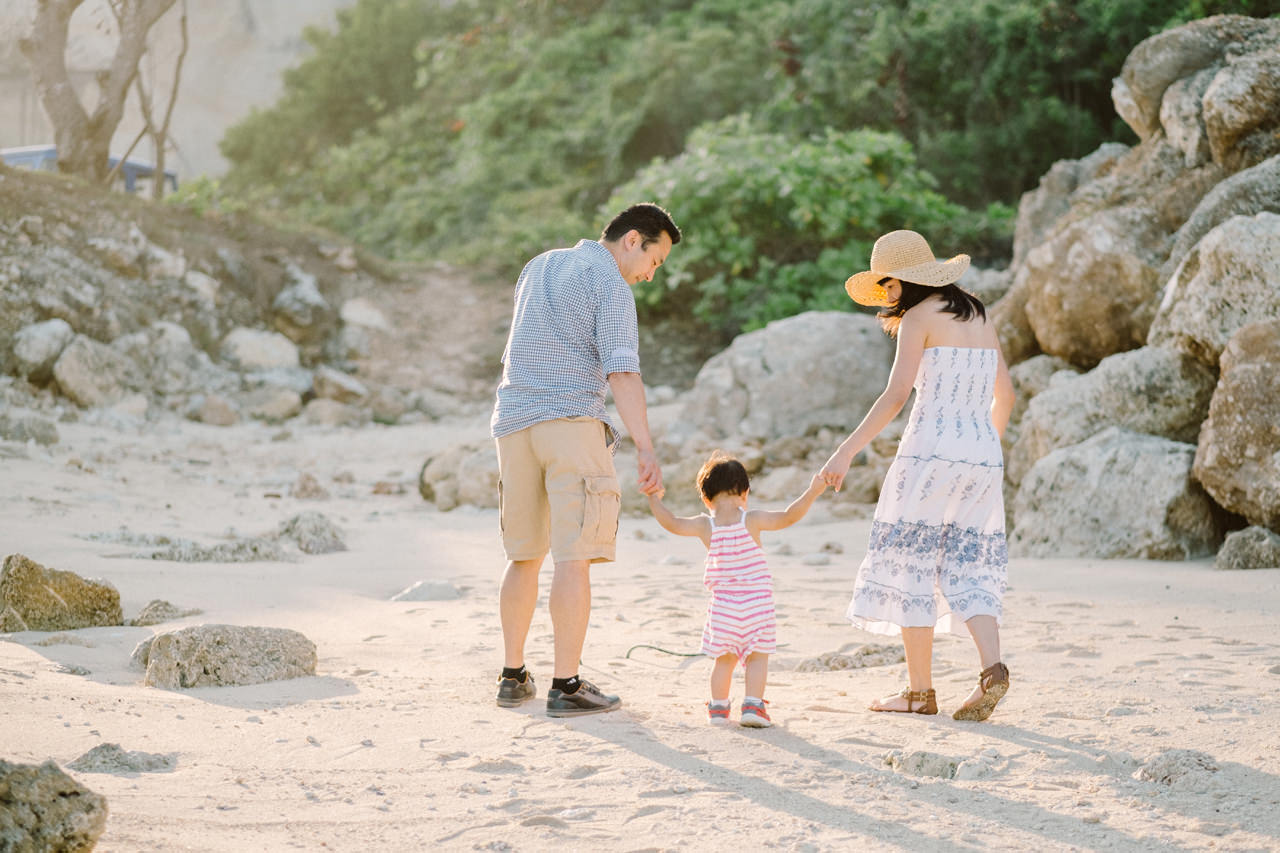 Helen and Howard: Bali Summer Family Portrait 3