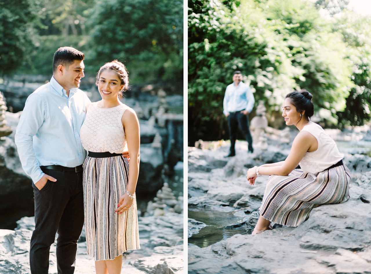 Harish & Neha: Bali Proposal Photography at Tegenungan Waterfall 1