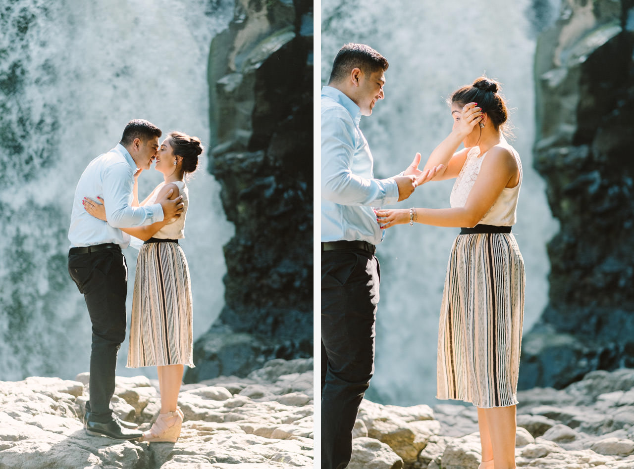Harish & Neha: Bali Proposal Photography at Tegenungan Waterfall 7
