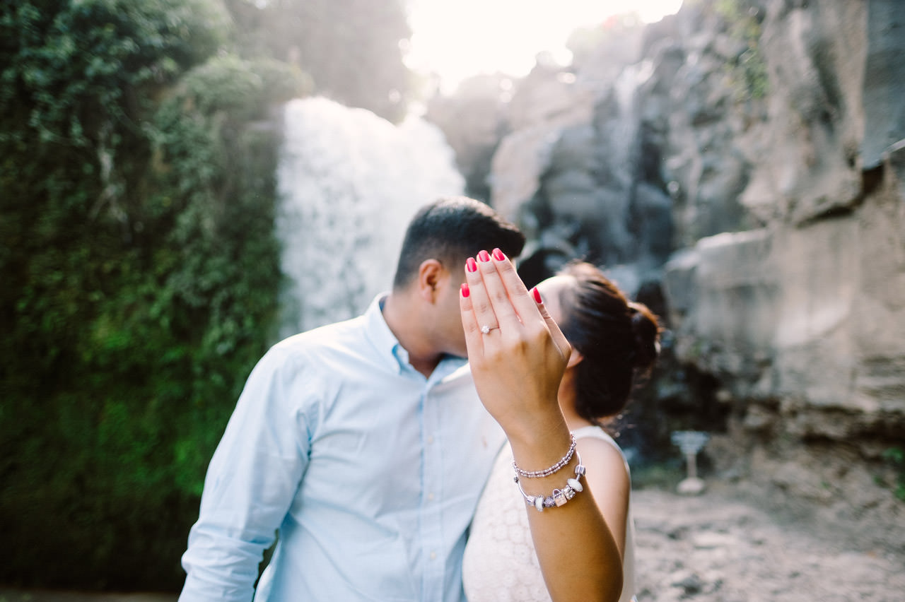 Harish & Neha: Bali Proposal Photography at Tegenungan Waterfall 10