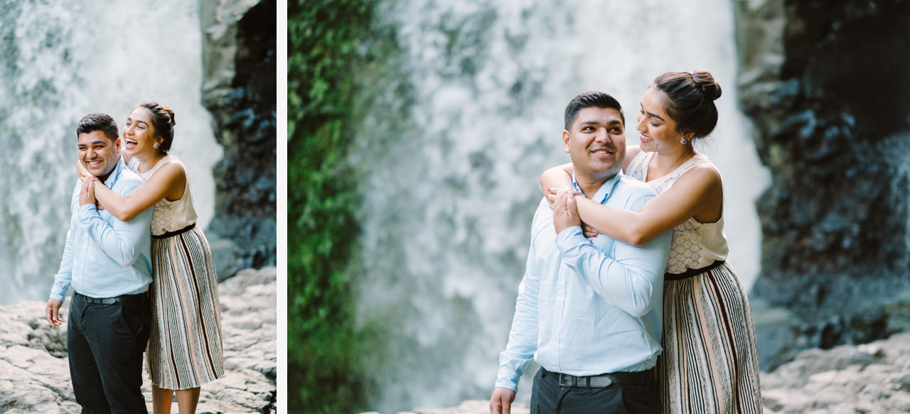 Harish & Neha: Bali Proposal Photography at Tegenungan Waterfall 12