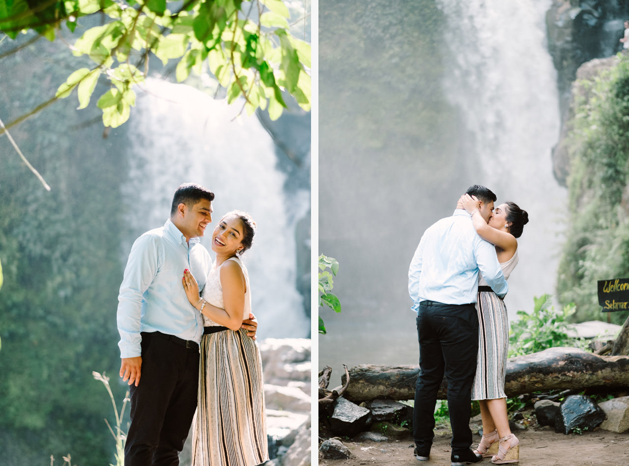 Harish & Neha: Bali Proposal Photography at Tegenungan Waterfall 13