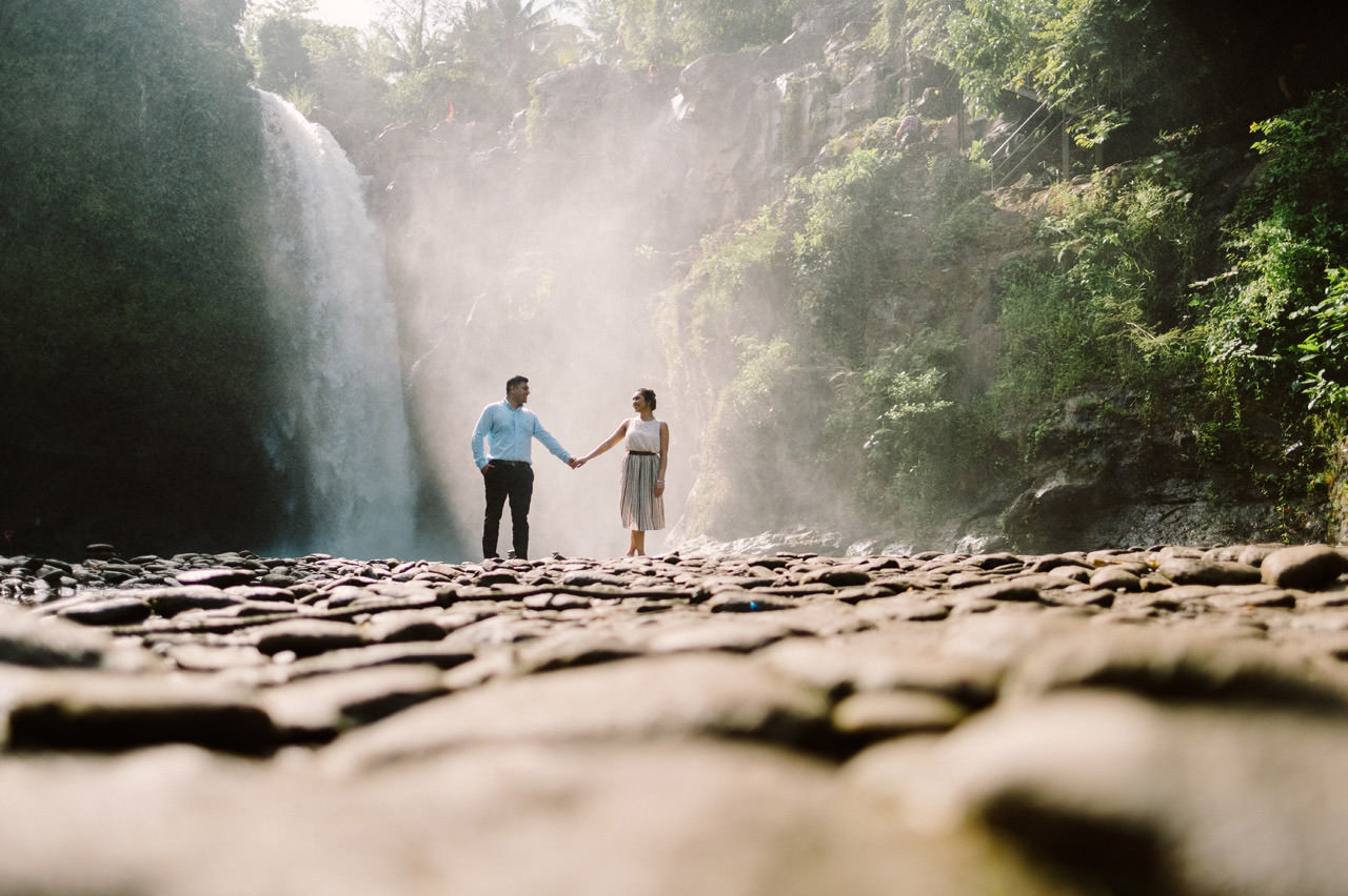 Harish & Neha: Bali Proposal Photography at Tegenungan Waterfall 14