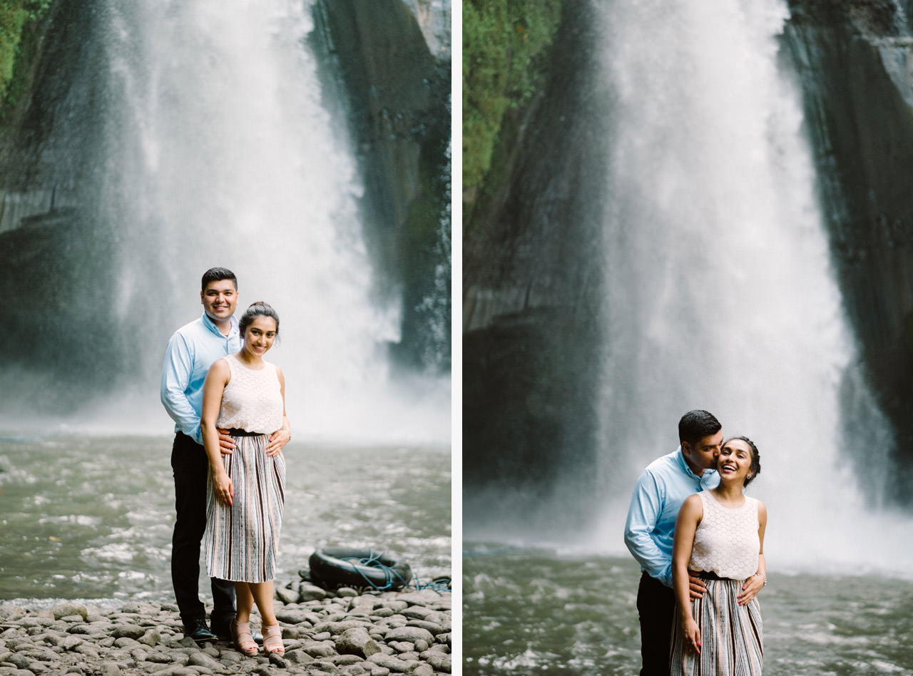 Harish & Neha: Bali Proposal Photography at Tegenungan Waterfall 15