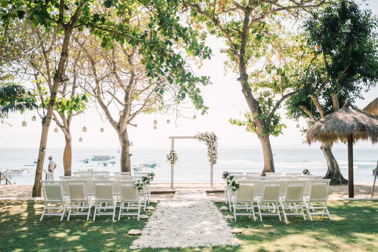 Hai Tide Beach Resort Lembongan Wedding