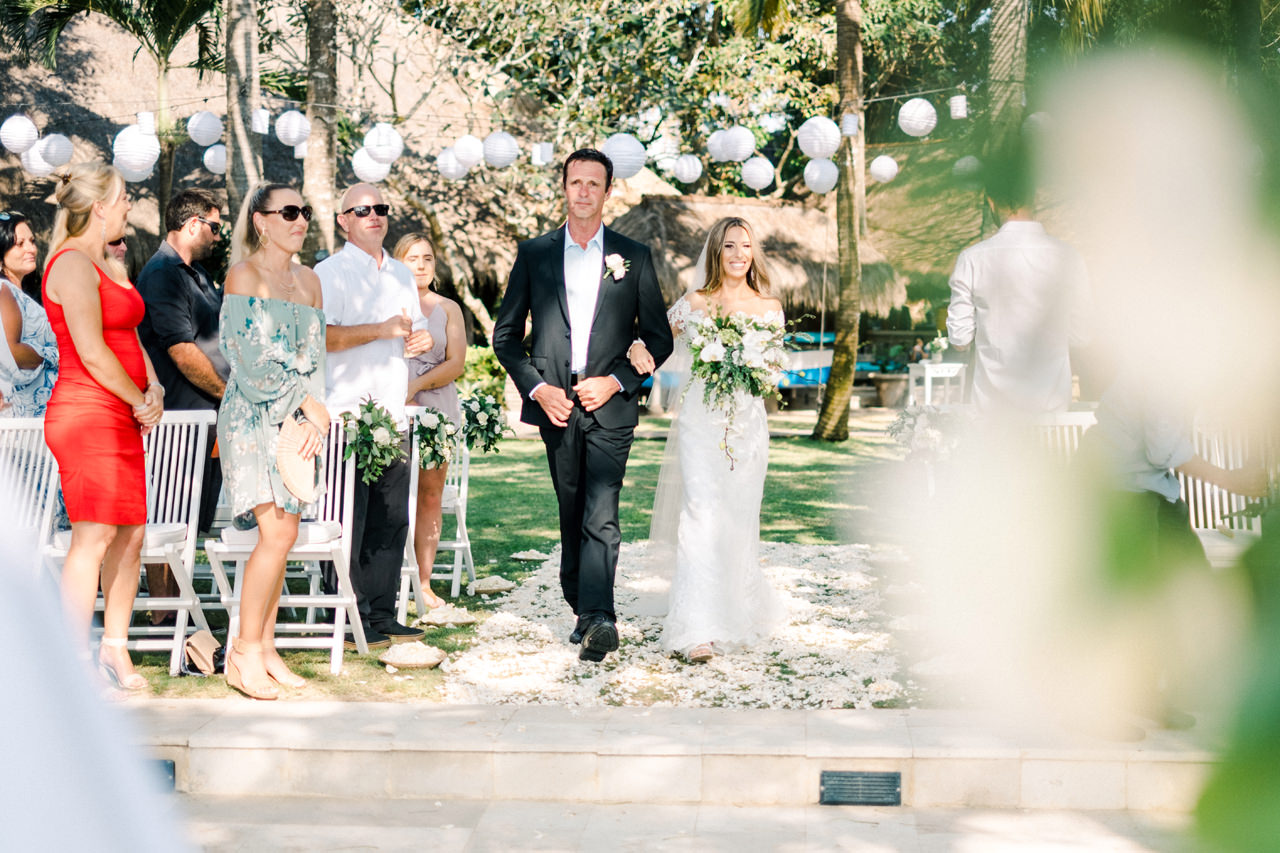 Hai Tide Beach Resort Wedding Nusa Lembongan