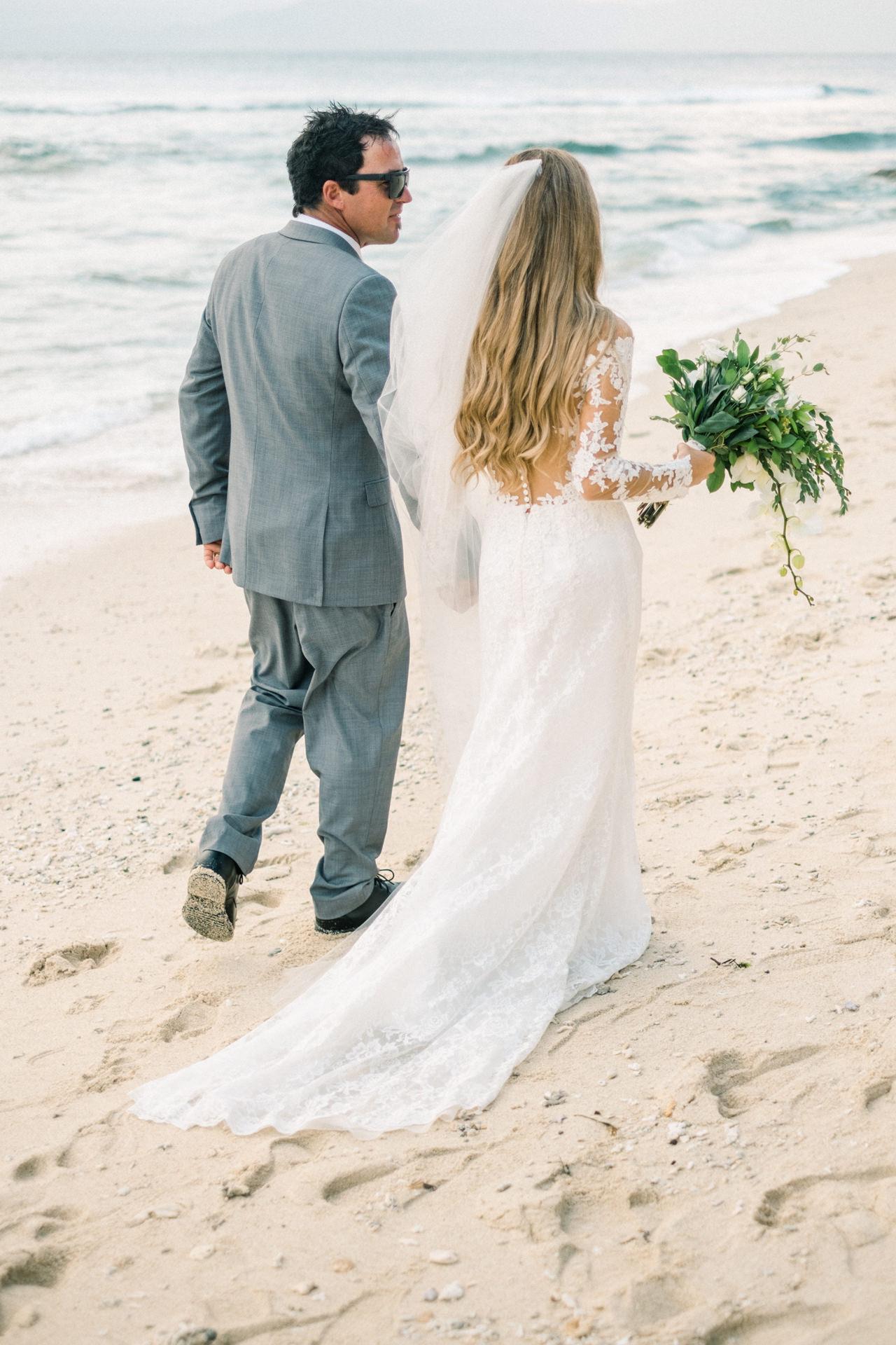Mushroom Beach Wedding Lembongan