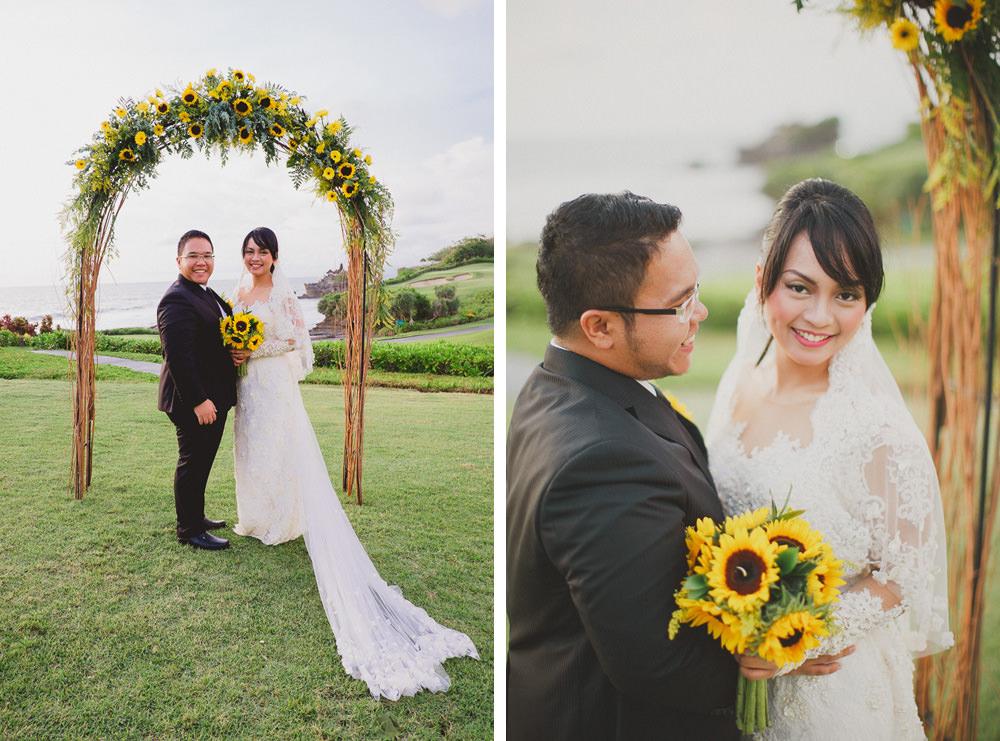 Harry & Riri Bali Wedding at Pan Pacific 55