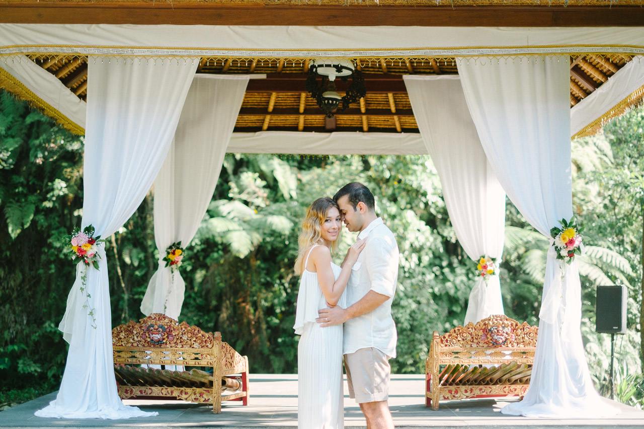 H&V: Bali After Wedding Photography at Royal Pitamaha Ubud 2