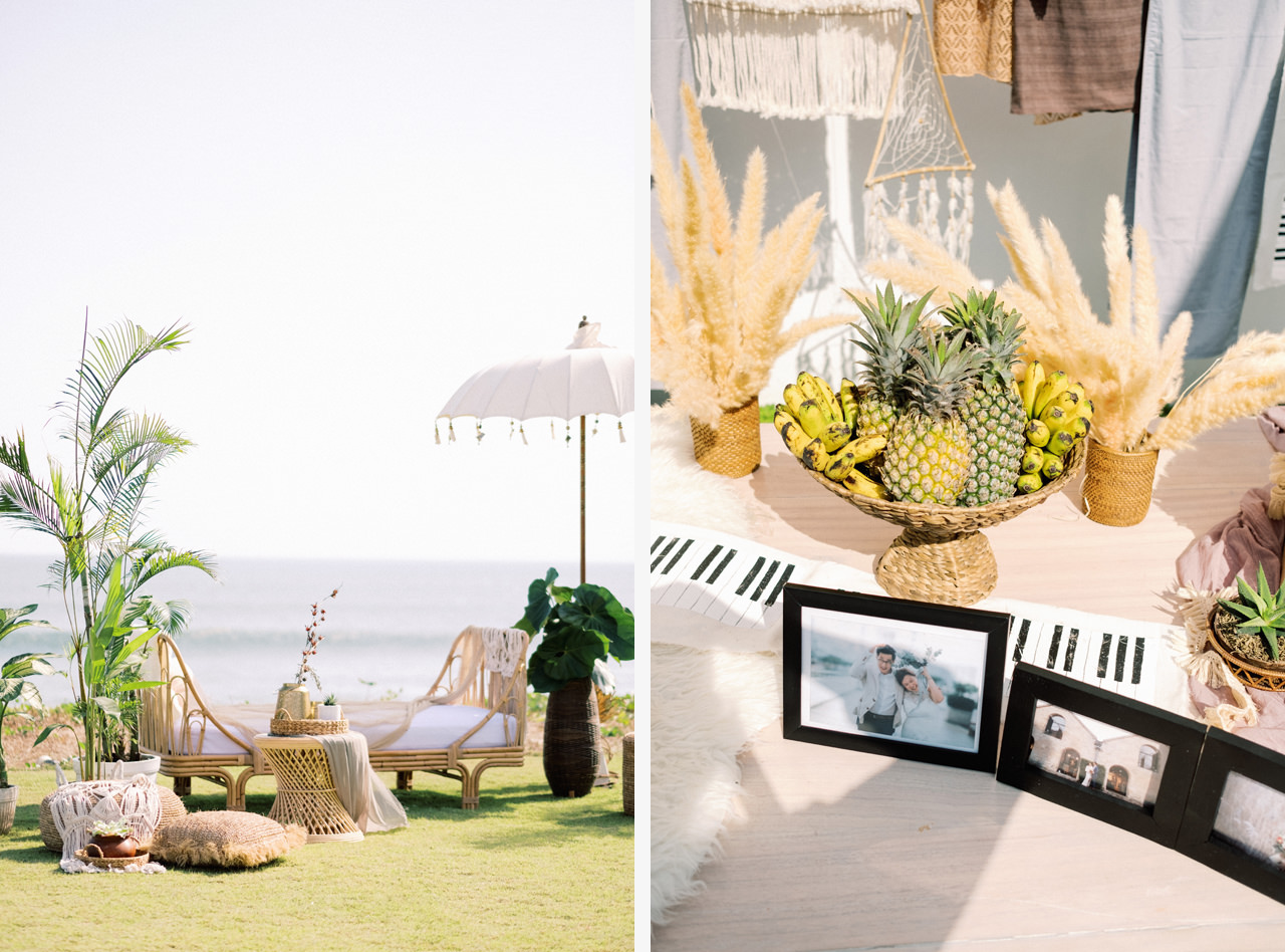 I&C: Beachfront Bali Wedding at Ombak Biru Villa 15
