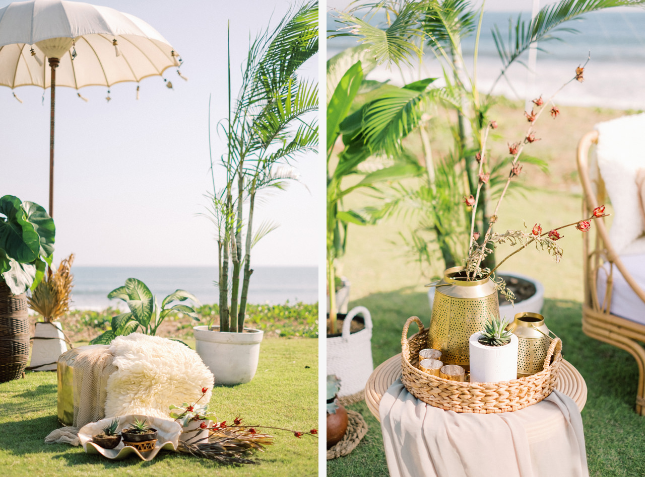 I&C: Beachfront Bali Wedding at Ombak Biru Villa 17