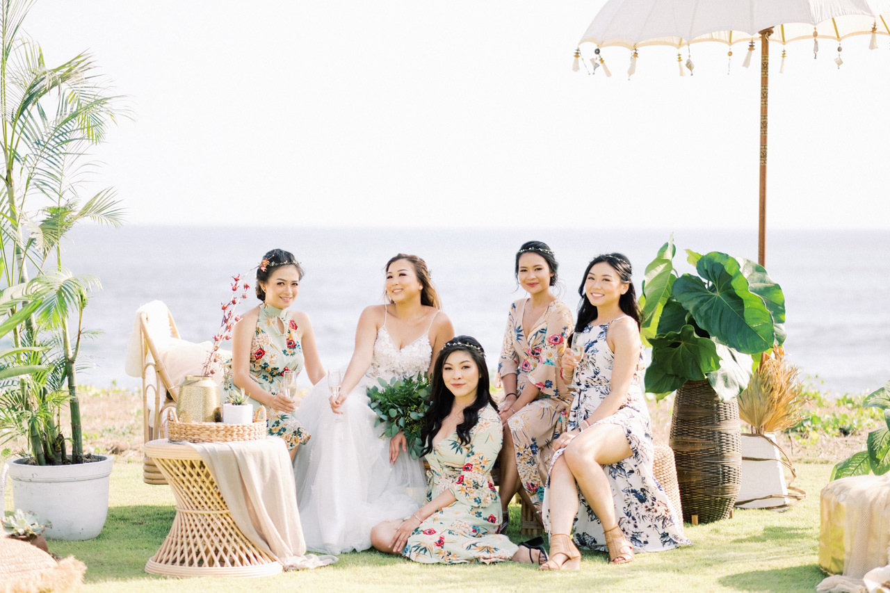 I&C: Beachfront Bali Wedding at Ombak Biru Villa 21