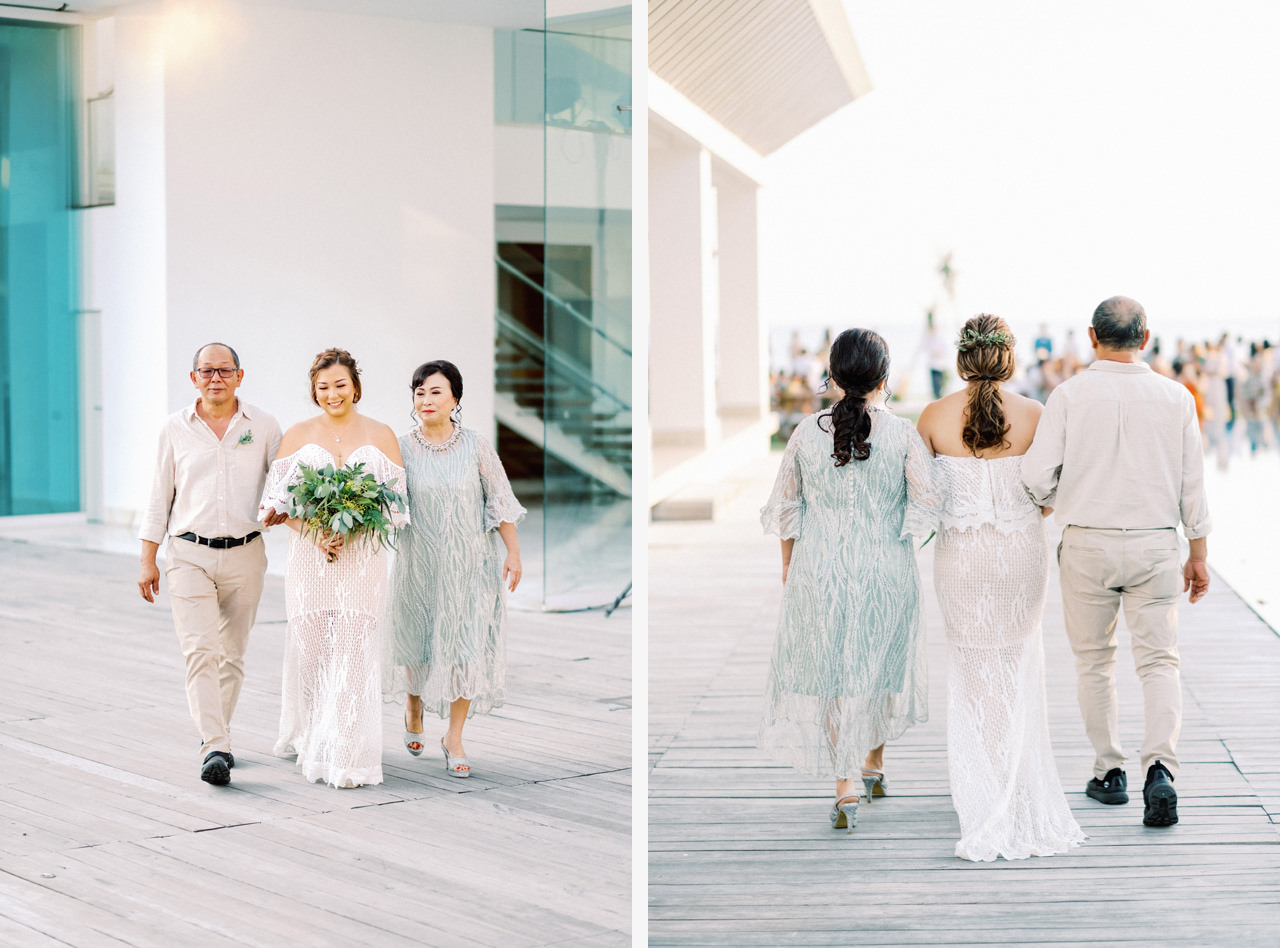 I&C: Beachfront Bali Wedding at Ombak Biru Villa 30