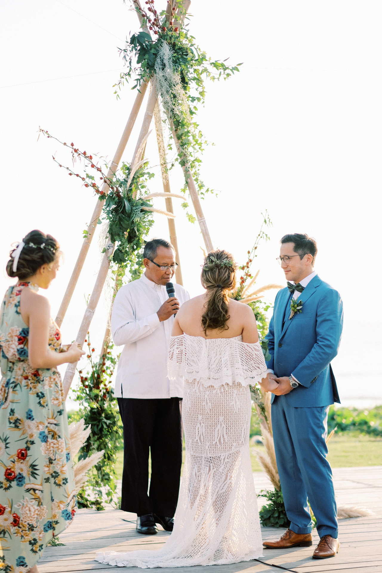 I&C: Beachfront Bali Wedding at Ombak Biru Villa 31