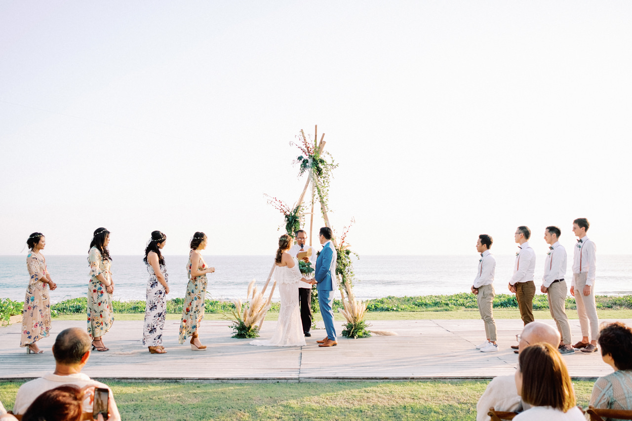 I&C: Beachfront Bali Wedding at Ombak Biru Villa 32