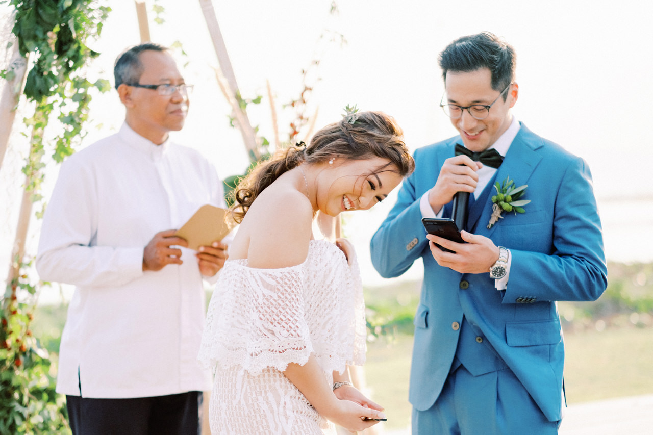 I&C: Beachfront Bali Wedding at Ombak Biru Villa 33