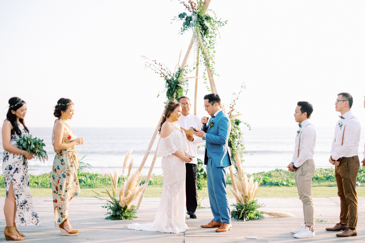I&C: Beachfront Bali Wedding at Ombak Biru Villa 34