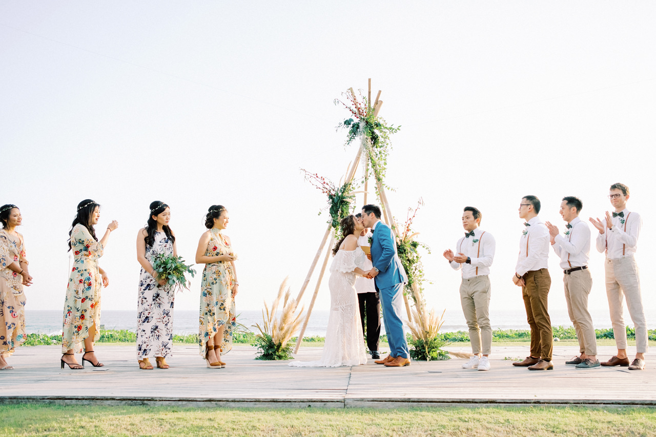I&C: Beachfront Bali Wedding at Ombak Biru Villa 36