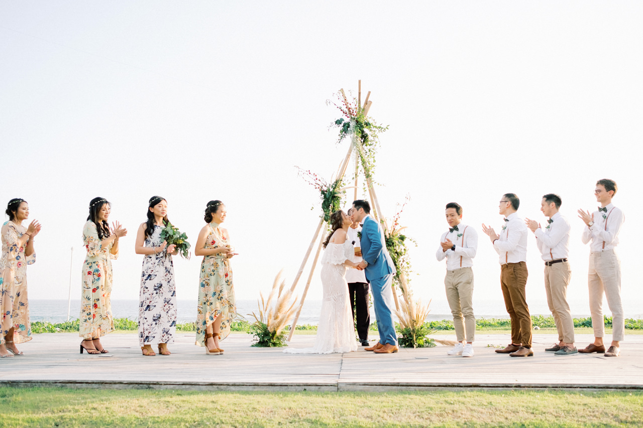 I&C: Beachfront Bali Wedding at Ombak Biru Villa 37