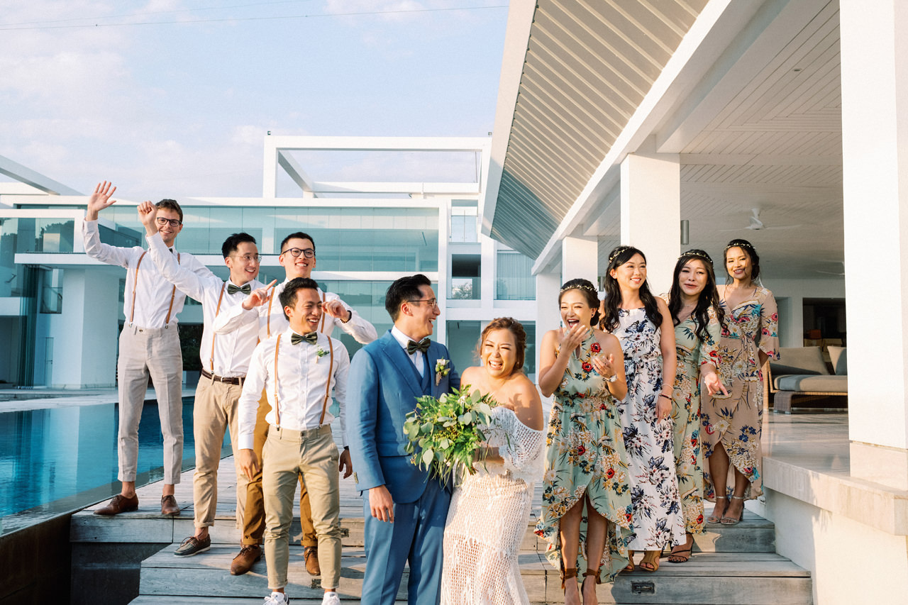 I&C: Beachfront Bali Wedding at Ombak Biru Villa 39