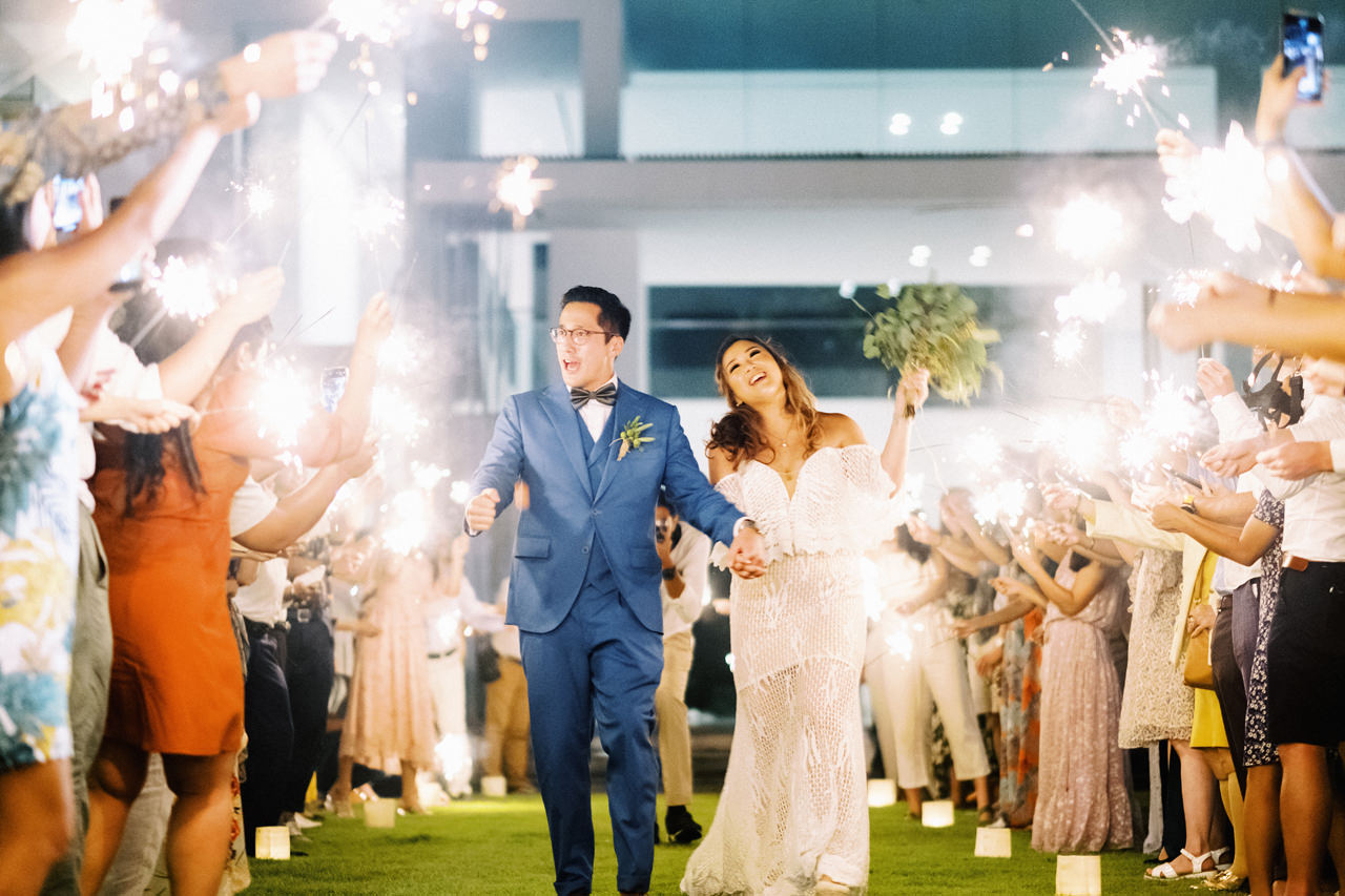 I&C: Beachfront Bali Wedding at Ombak Biru Villa 53