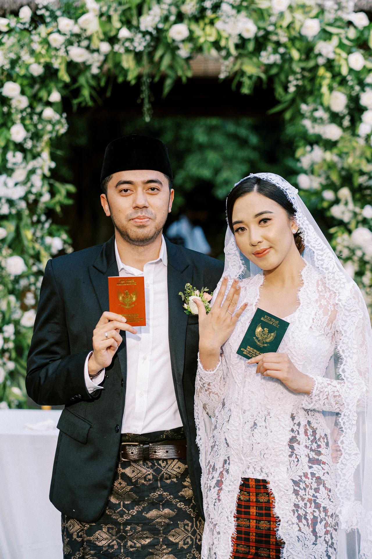 Akad Nikah in Bali 36