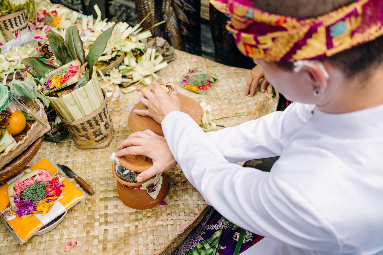 I&V: Balinese Traditional Wedding Ceremony 10