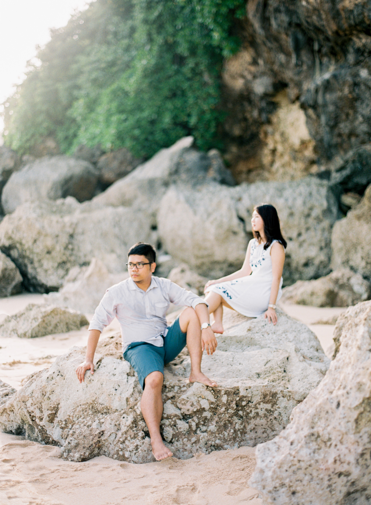 J&D: Bali Fine Art Film Engagement Photography 7