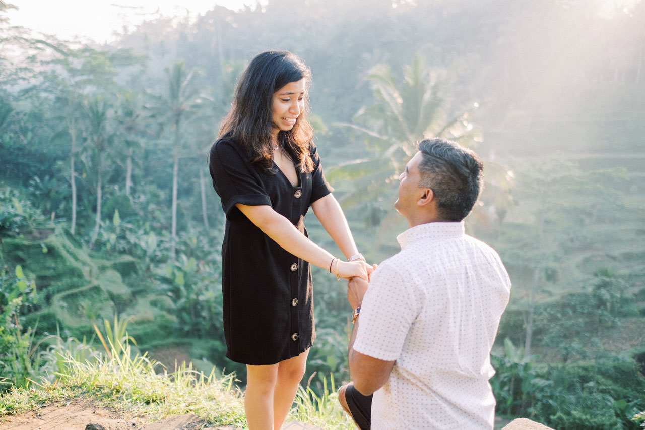 Perfect Surprise Proposal in Bali  5