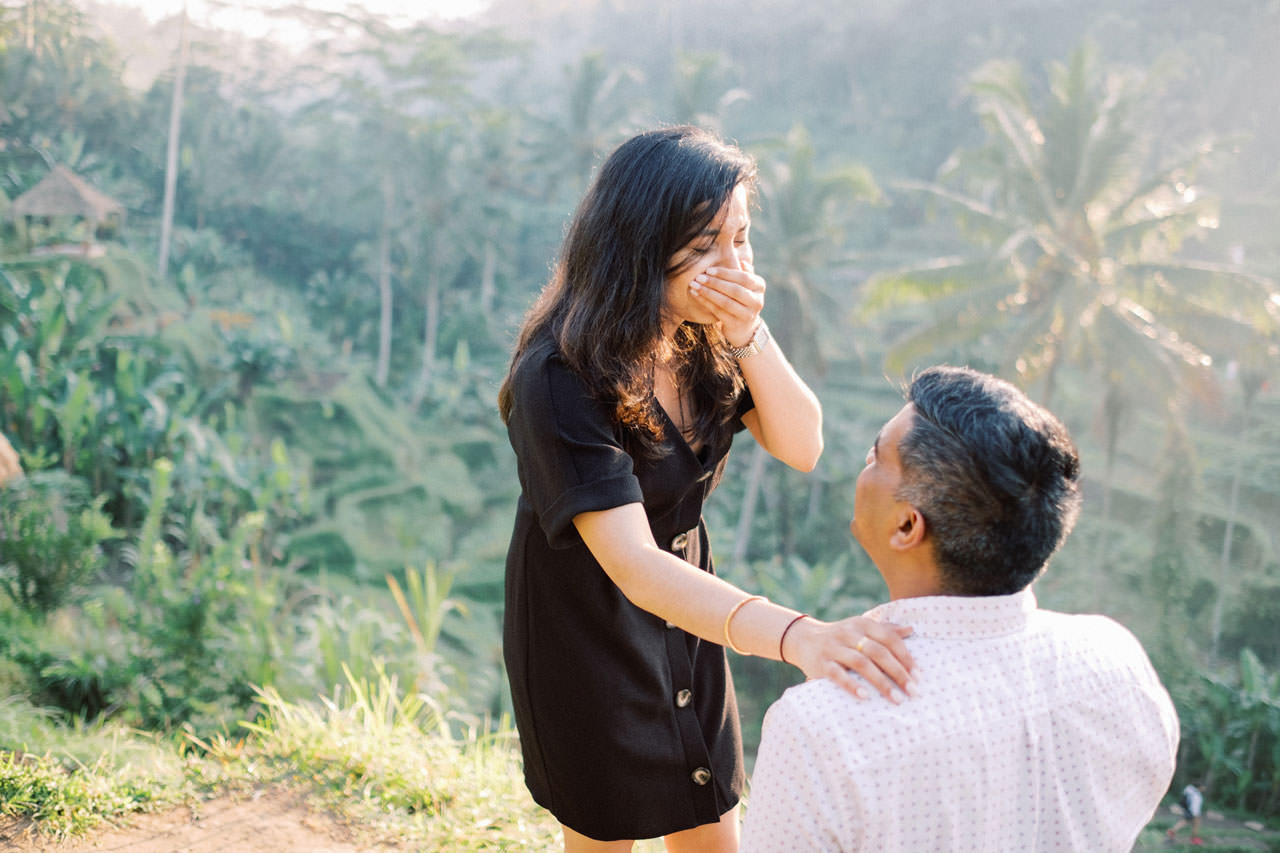 Perfect Surprise Proposal in Bali  6