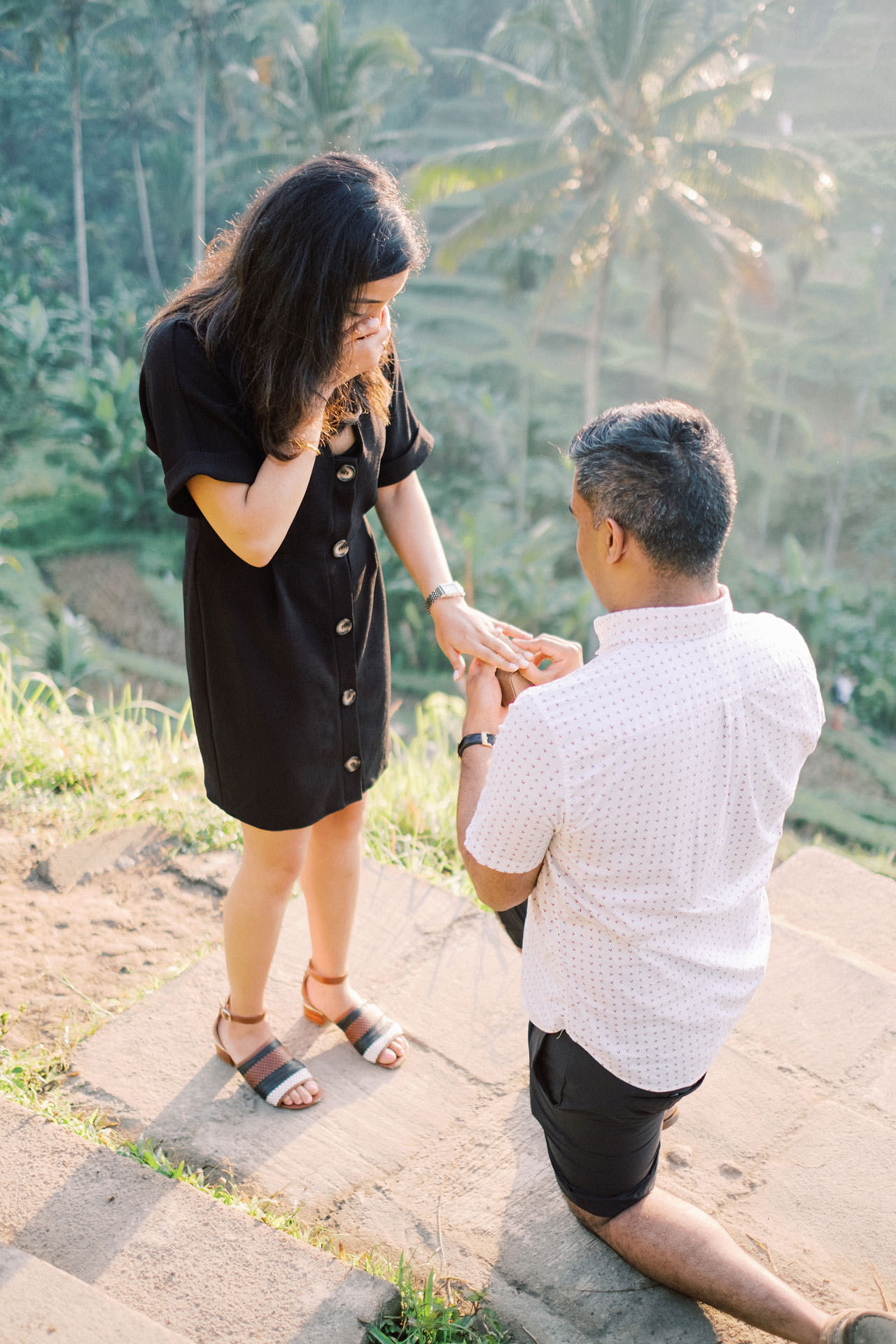Perfect Surprise Proposal in Bali  9
