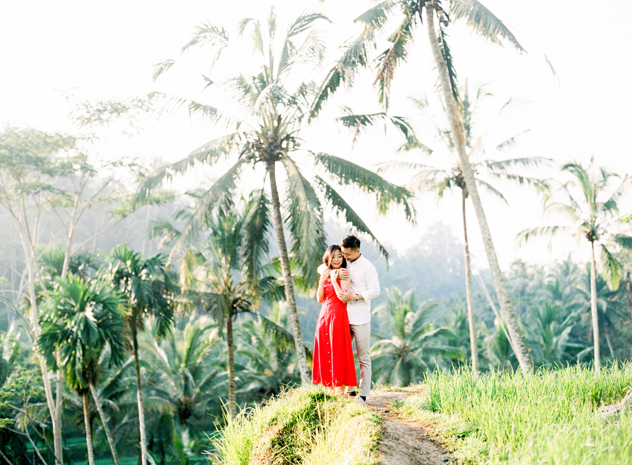 J&J: Fine Art Tegalalang Rice Terraces Engagement 2