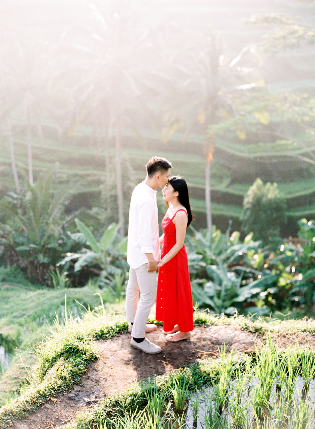 J&J: Fine Art Tegalalang Rice Terraces Engagement 4