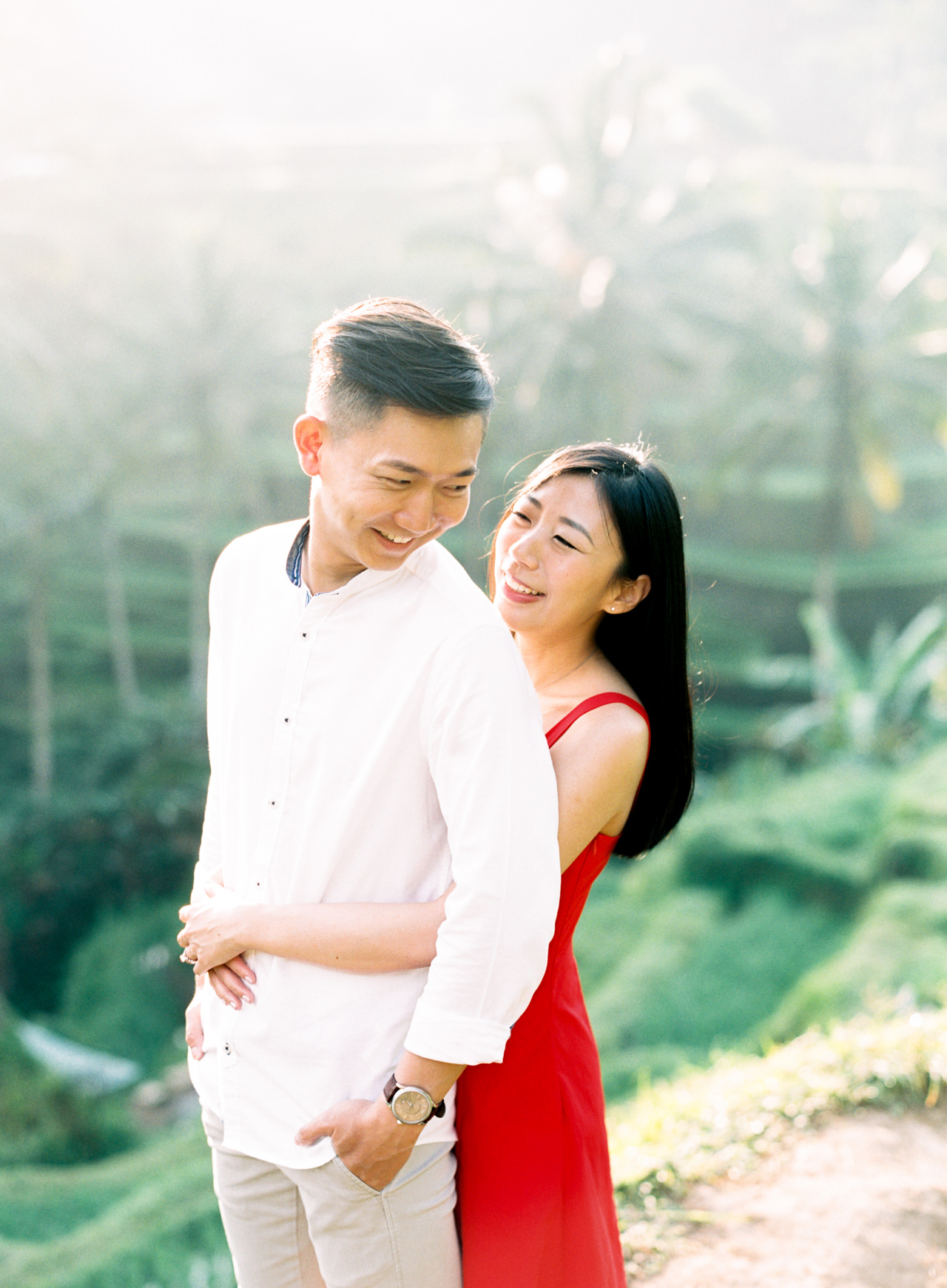 J&J: Fine Art Tegalalang Rice Terraces Engagement 6