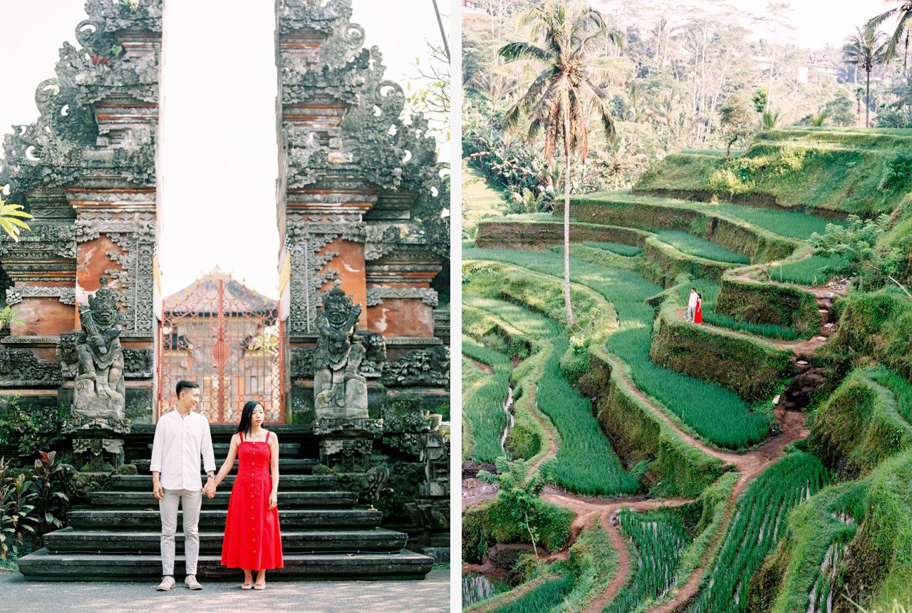 J&J: Fine Art Tegalalang Rice Terraces Engagement 9