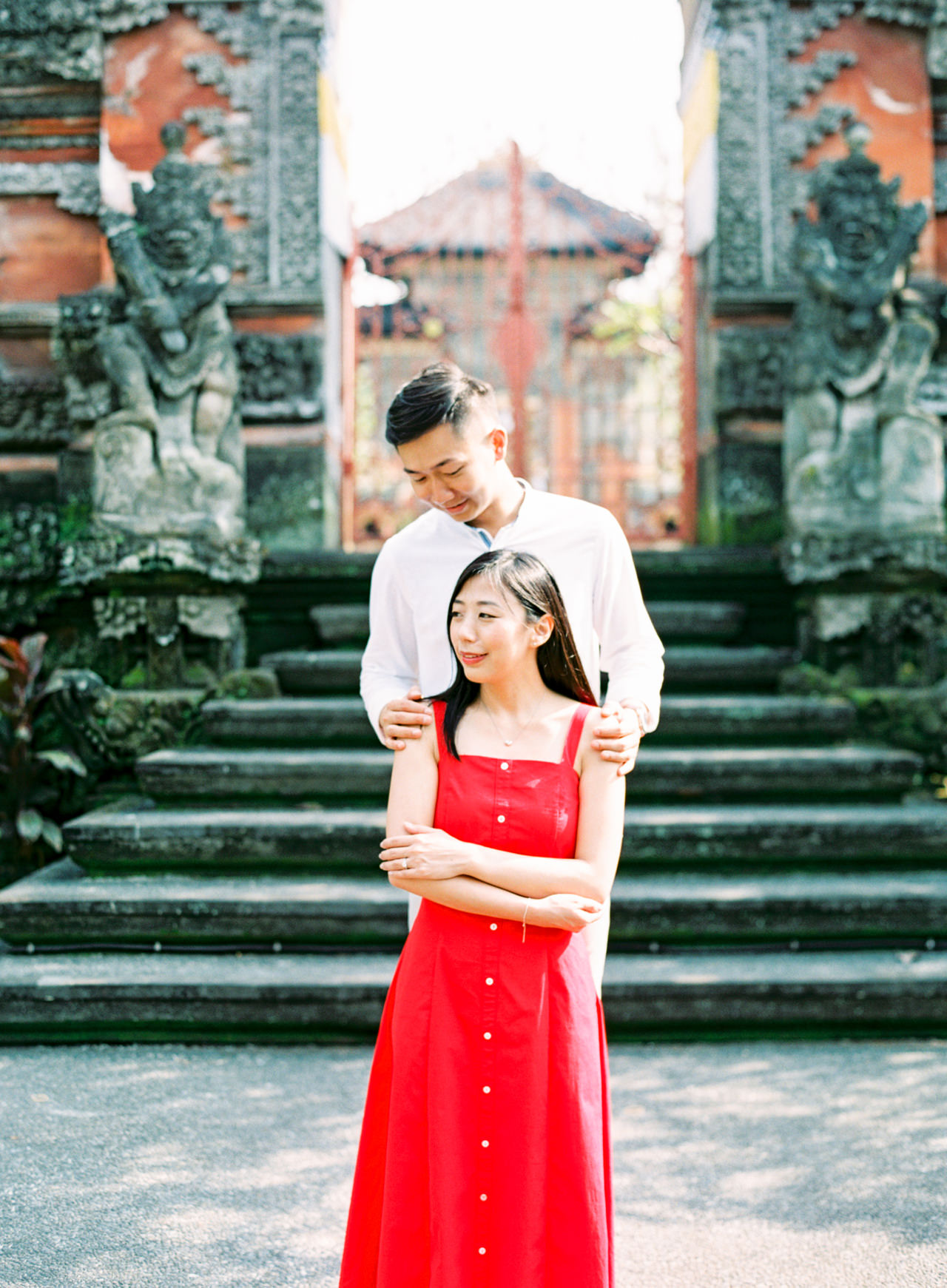 J&J: Fine Art Tegalalang Rice Terraces Engagement 10