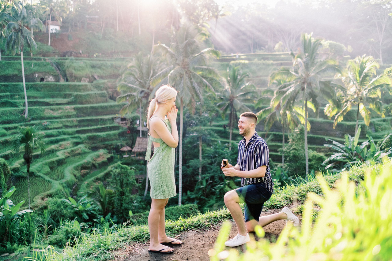 J&J: Proposal Photoshoot in Ubud, Bali 6