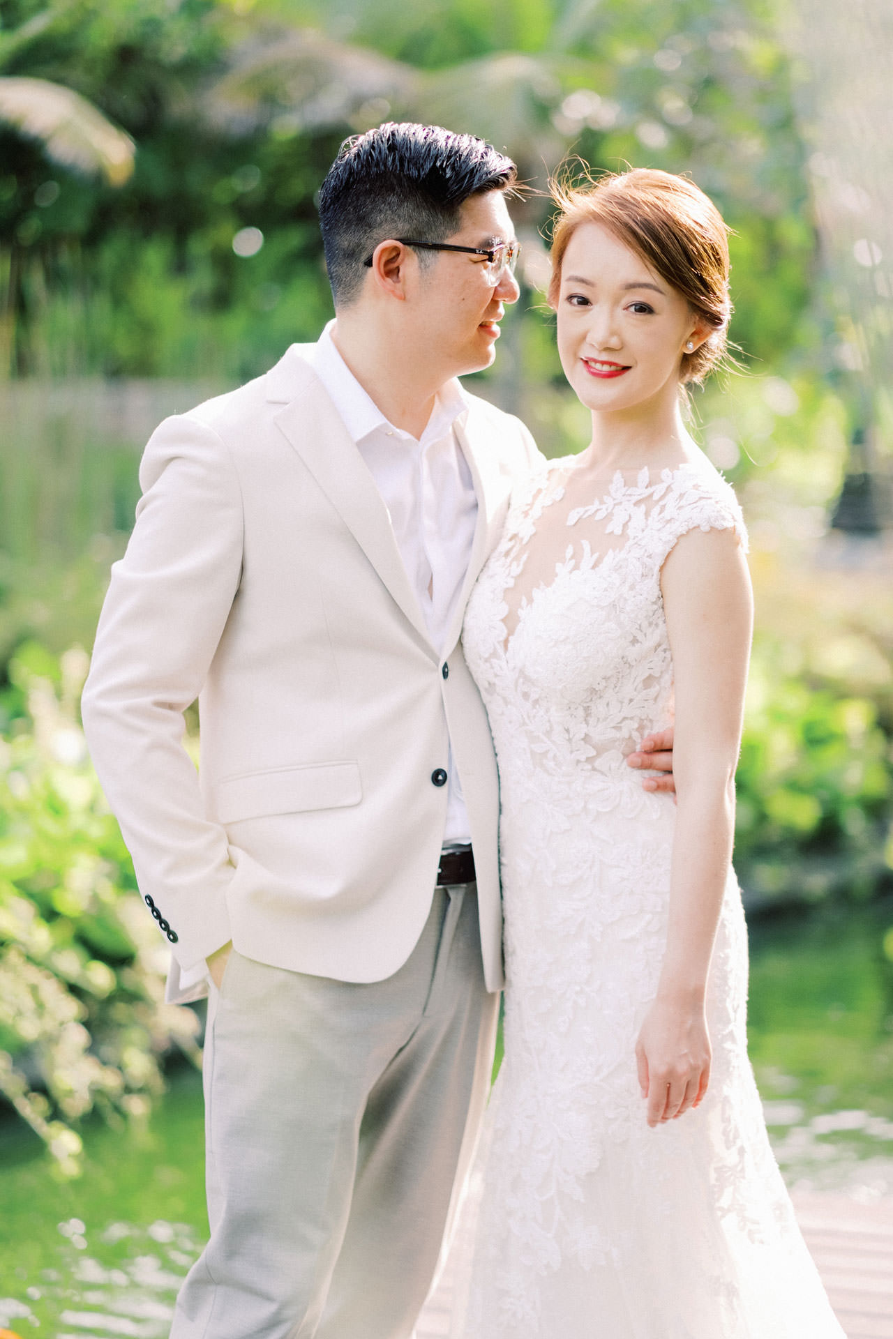 J&K: The Ritz Carlton Bali Beach Prewedding 1