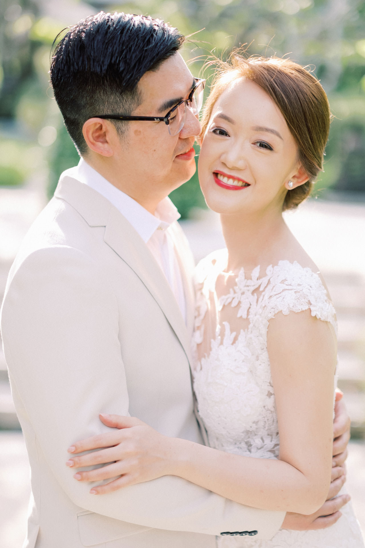 J&K: The Ritz Carlton Bali Beach Prewedding 3