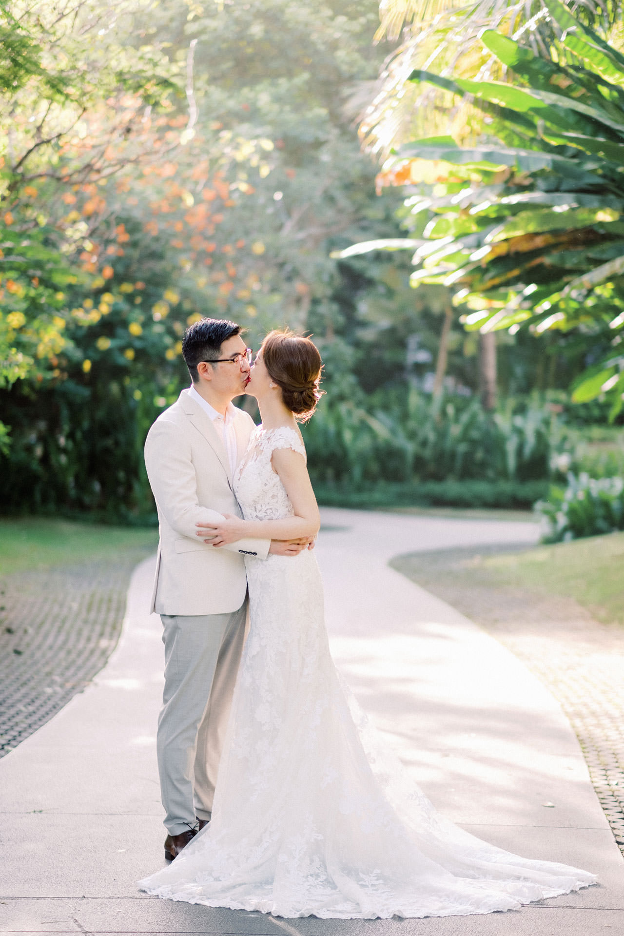 J&K: The Ritz Carlton Bali Beach Prewedding 5