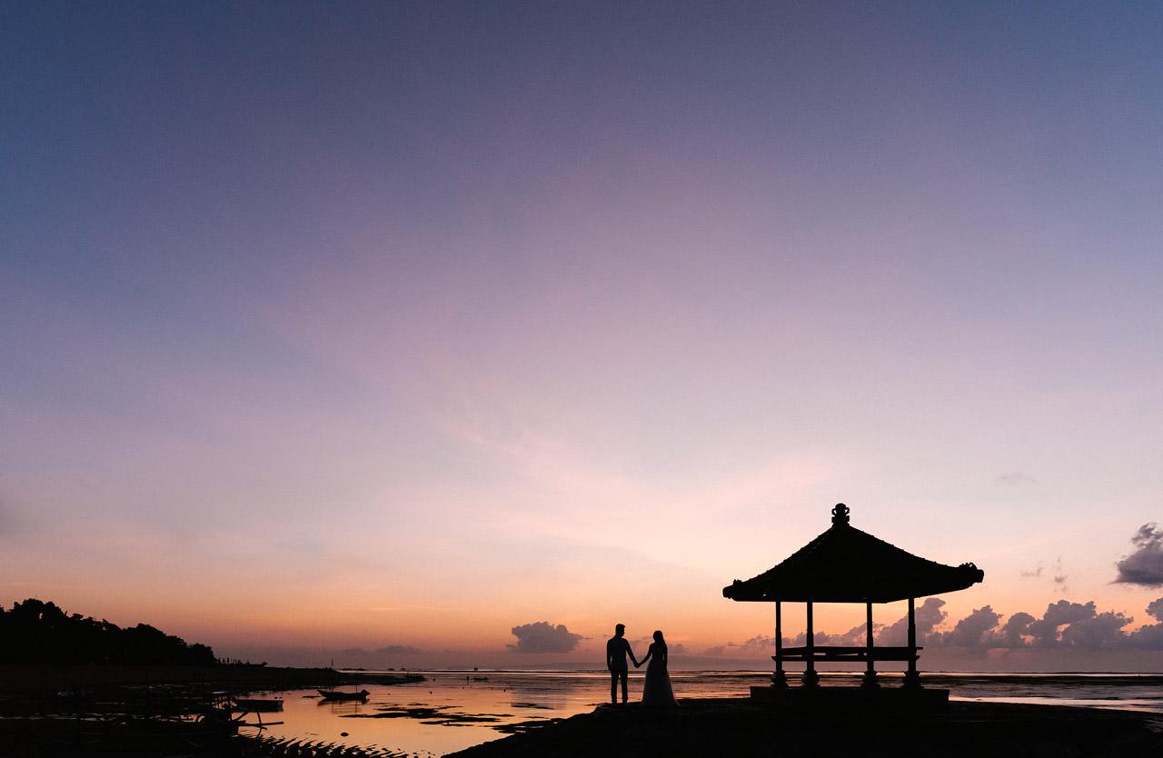 J&M: Sunrise Bali Engagement Photography 1