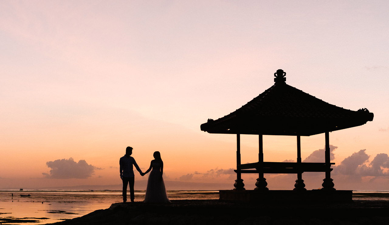 J&M: Sunrise Bali Engagement Photography 3