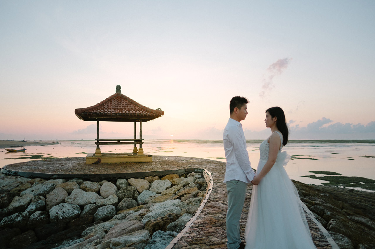 J&M: Sunrise Bali Engagement Photography 9