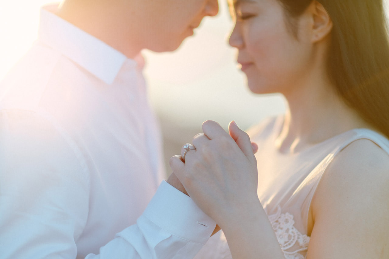 J&M: Sunrise Bali Engagement Photography 14