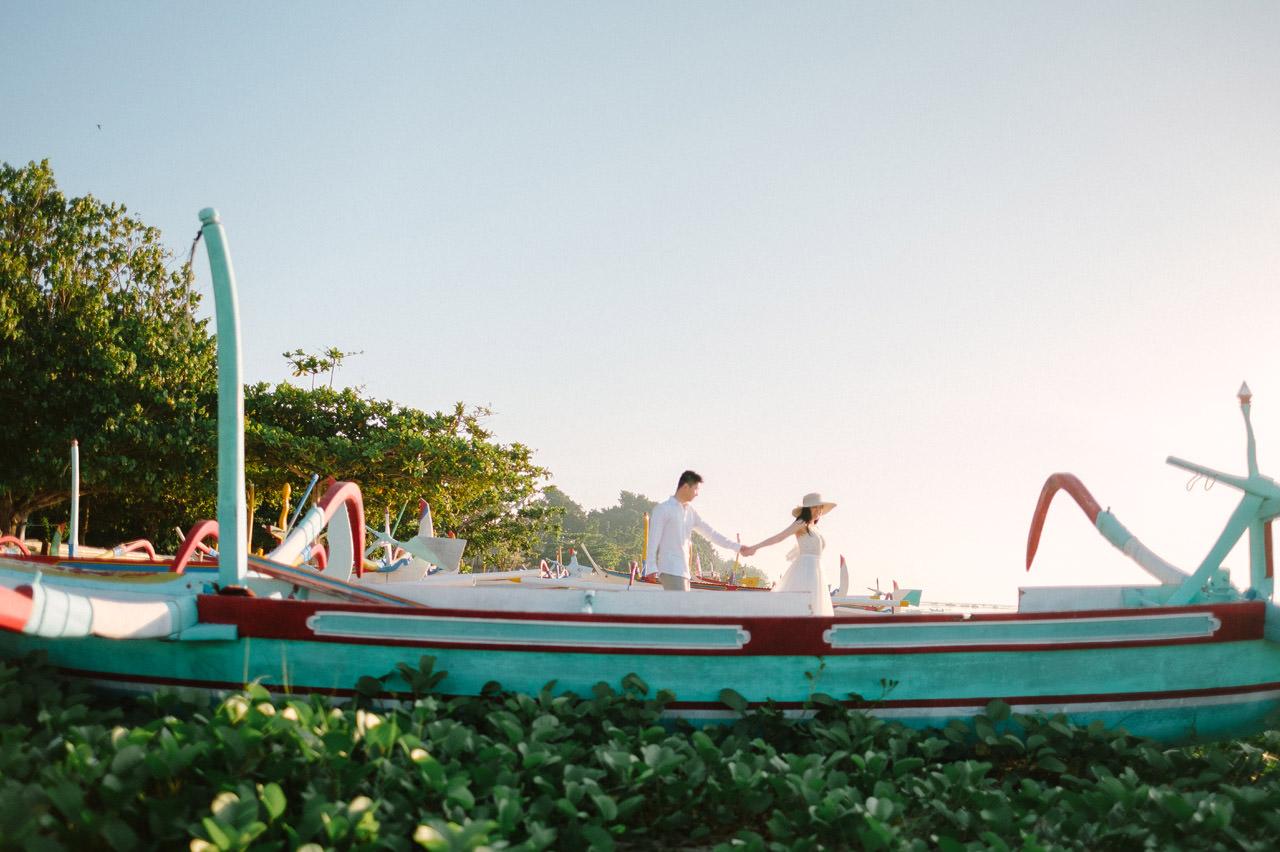 J&M: Sunrise Bali Engagement Photography 17