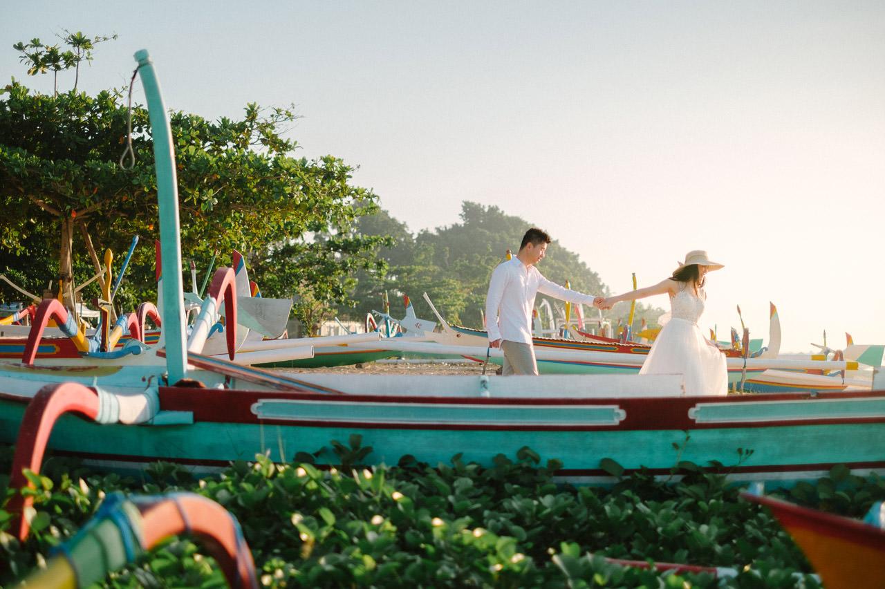 J&M: Sunrise Bali Engagement Photography 18