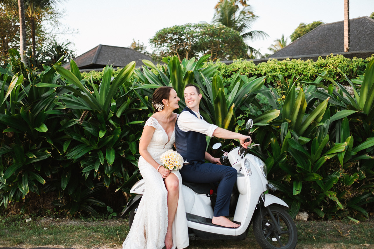 J&M: Charming Canggu Beach Wedding at Villa Shalimar 38