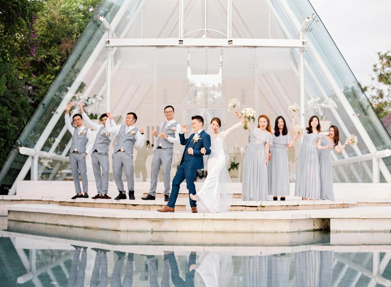 J&P: Elegant Bali Wedding Destination at Tirtha Bridal 12