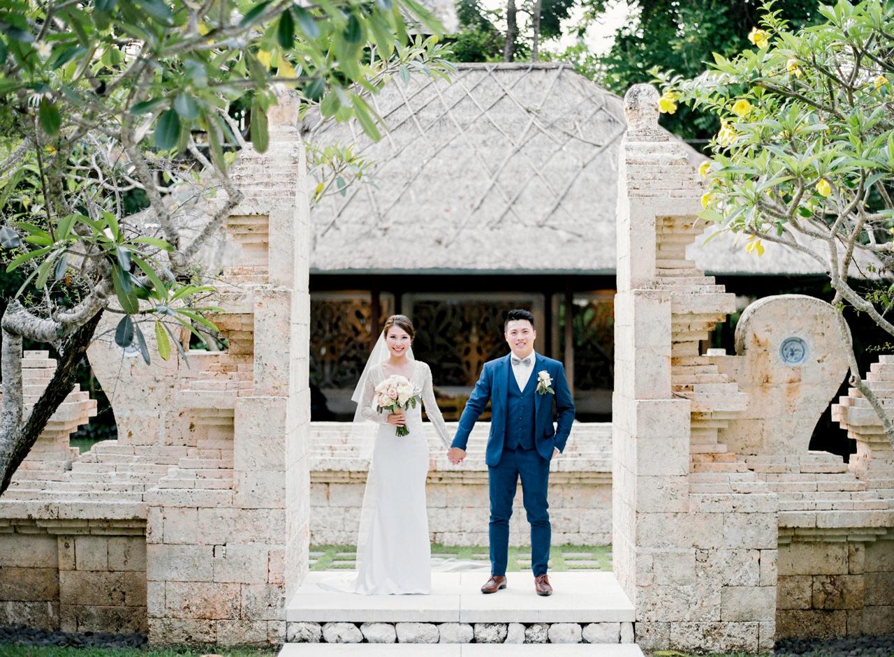 J&P: Elegant Bali Wedding Destination at Tirtha Bridal 19